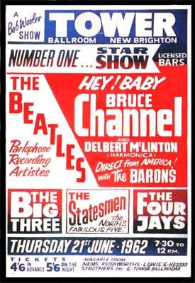 Bruce Channel - Beatles tour