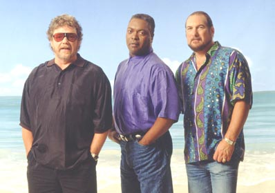 L-r: Steve Cropper, Booker T Jones & Duck Dunn