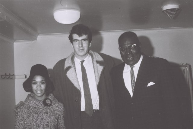 Roger Eagle with -sugar pie desanto - and - Howlin Wolf