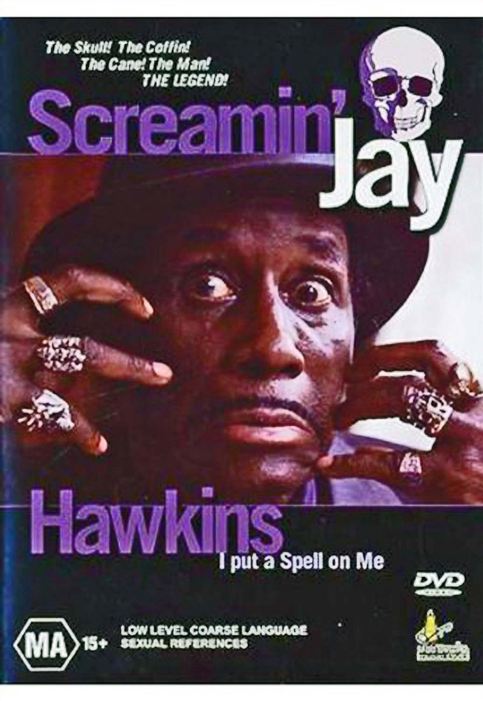 Screaming Jay Hawkins DVD his last performance in Greece