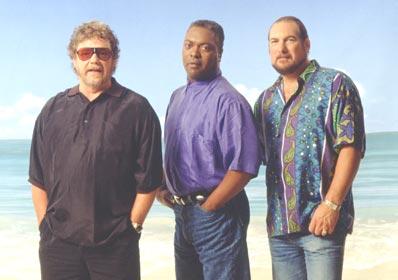 L-r: Steve Cropper, Booker T Jones & Duck Dunn