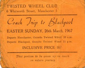 BLACKPOOL - Twisted Wheel - Trip 1967