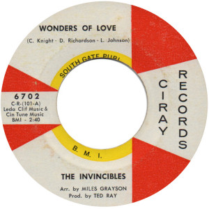 Wonders Of Love - Invincibles