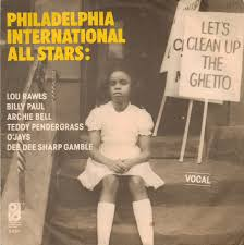 Lets Clean Up the Ghetto - Picture Sleeve - single 45