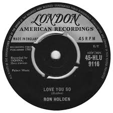 Love You So - Ron Holden