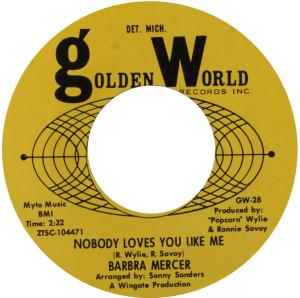 Barbra Mercer - Nobody Love You Like Me